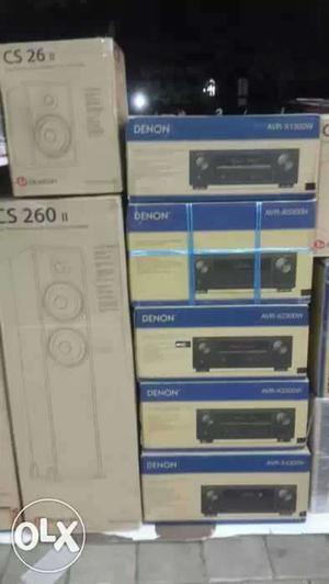Denon AVR-XH Dolby atmos 4k AV receiver Brand new