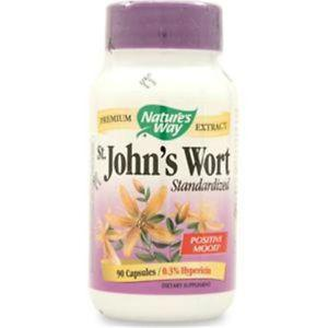 Nature's Way St. John's Wort - Standardized Extract 90 caps