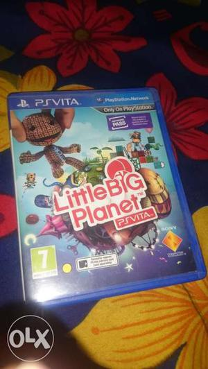 Ps Vita Game Little Big Planet (price Negotiable)
