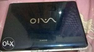 Sonyvaio BLUE laptop Core2duo - 160gb hdd Good Working