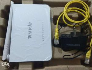 Tenda Modem + wireless Router (3 months old)
