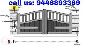 Home gate automation installation and maintanences