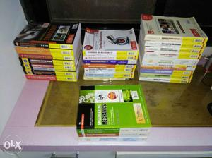 Mechanical engineering 28 books from 1st year to