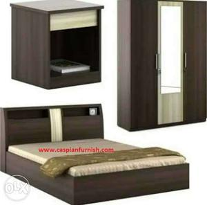 New Bedroom Set with Warranty and Free Delivery