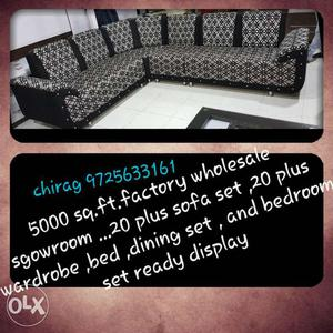 New new new sofa set at budget with high