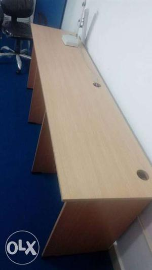 Office 3seaters table new one,shifting office