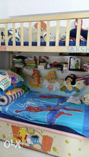 Wooden bunkbed Good Quality with 3 mattress