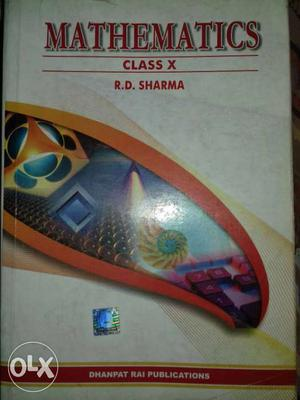 10th Class Mathematics By R.D. Sharma