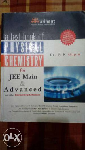 A Textbook of Physical Chemistry for JEE Main &