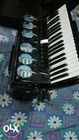 A brand new with exelent tuned accordian,