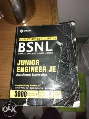 BSNL Junior Engineer Je Book