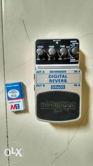 Digital REverb DR600 Guitar FX