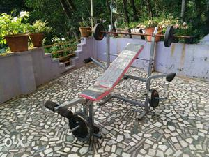 Home gym 6 in 1 bench press
