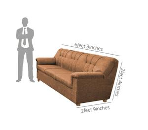Jute 3 seater Sofa on Rent in Bangalore Bangalore