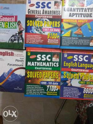 Ssc cgl books 100rs per book