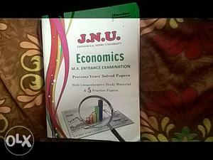 Two books, JNU entrance exam, previous year
