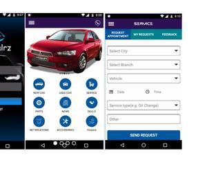 Car Dealers Mobile App Bangalore