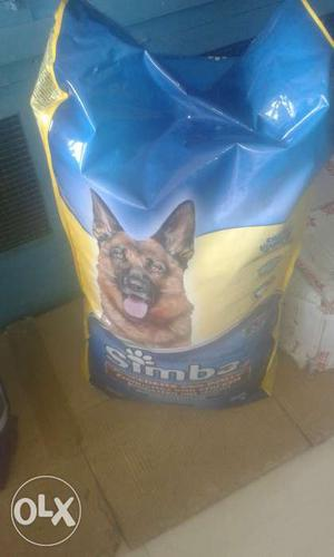 Dog food and sample available pls check and buy.