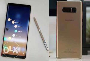 Samsung note 8 (1 day old with Bill and box