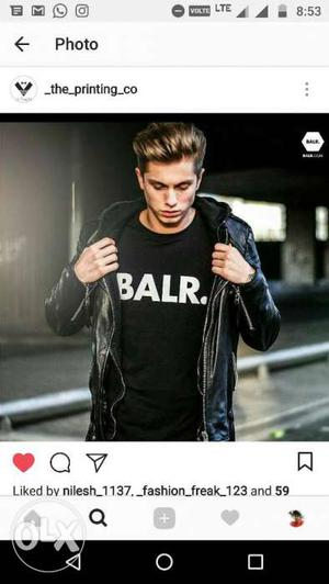 Balr T-shirts available All sizes available