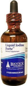 Biotics Research, Liquid Iodine Forte 2 fl oz