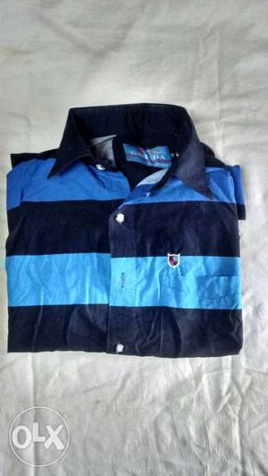 Blue And Black Polo shirt
