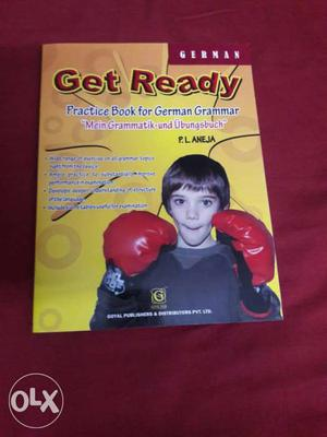 Get ready is a practice book for German Grammar