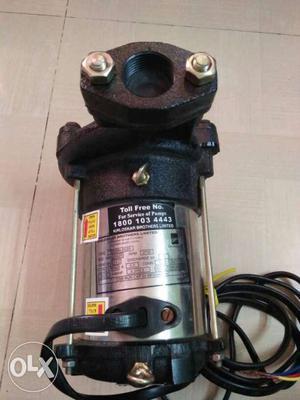 Kirloskar submersible pump;without starter