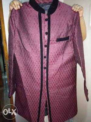 Men's indo western only once used. Size 44