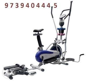 Orbitrek elite elliptical training to walking and found