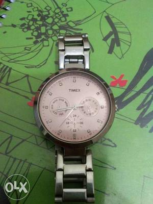 Timex watch for women with 6 months warranty left