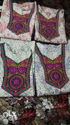 Women's Four Assorted Color Dresses