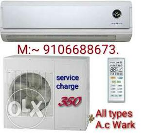 All types A.C service,installation and