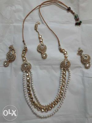 Artificial jewellery on rent