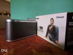 Black And Gray Bluetooth Speaker ReConnect Reliance Muse