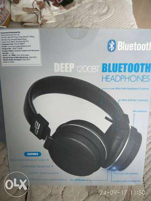 Bluetooth headphone new and working condition, not used.