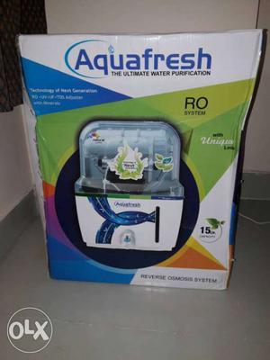 Brand new Aquafresh RO 15 litres