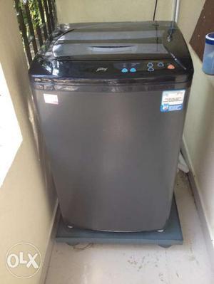 Godrej 5.8 kg Fully Automatic Top Load Washing Machine Grey