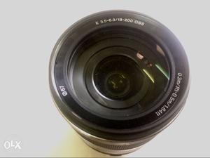 Sony E  OSS Lens for Fullframe/APSC