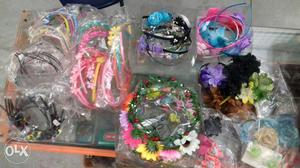 Tic tac pins, hairbands,rubber bands,juda pins,