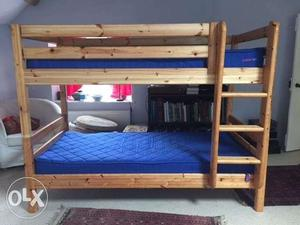 Imported felxa bunk beds and 2 desks