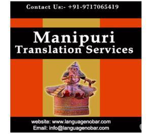 Professional English to Manipuri Translation Services India