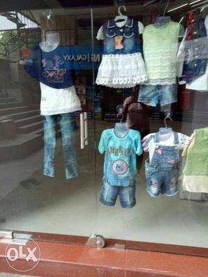 Exclusive kids wear, due to going out of India