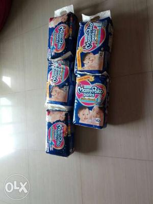 Mamy poko pant diapers XL size 5 packs each at 450