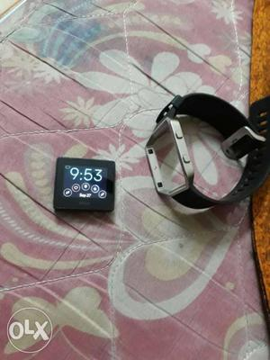 Black And Grey Fitbit Blaze with bill and box new condition