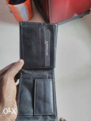 Genuine pure leather Arrow branded unused purse