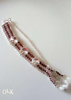 Hanging bracelet with American diamonds...
