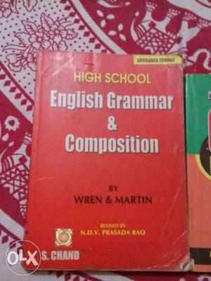 High School English Grammar & Composition Book