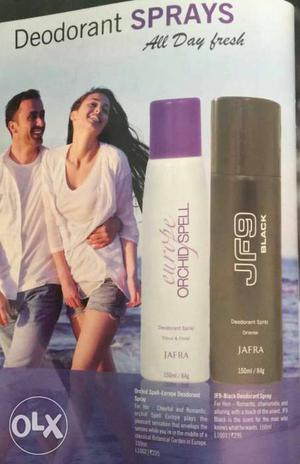 Jafra body spray for men and women from USA