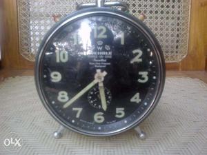 Antique Wherle Alarm Clock